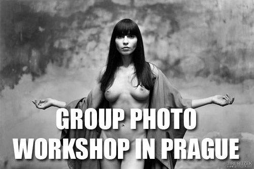 Group Nude Art Photo Workshop in Prague