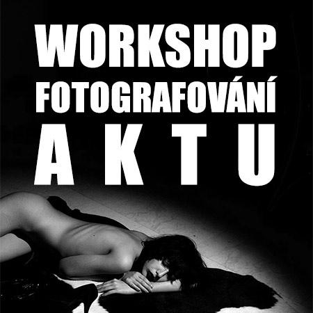 FOTOGRAFOVÁNÍ AKTU - Workshop s Jiřím Růžkem - Praha