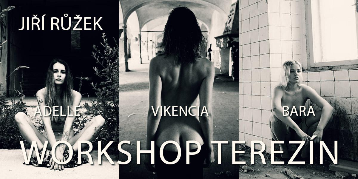 Workshop fotografování aktu v opuštěných vojenských budovách v Terezíně
