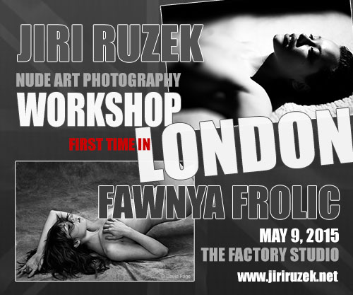 Nude art photography workshop in London