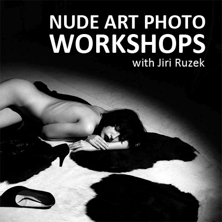 Prague Nude Art Photography Courses with Jiri Ruzek