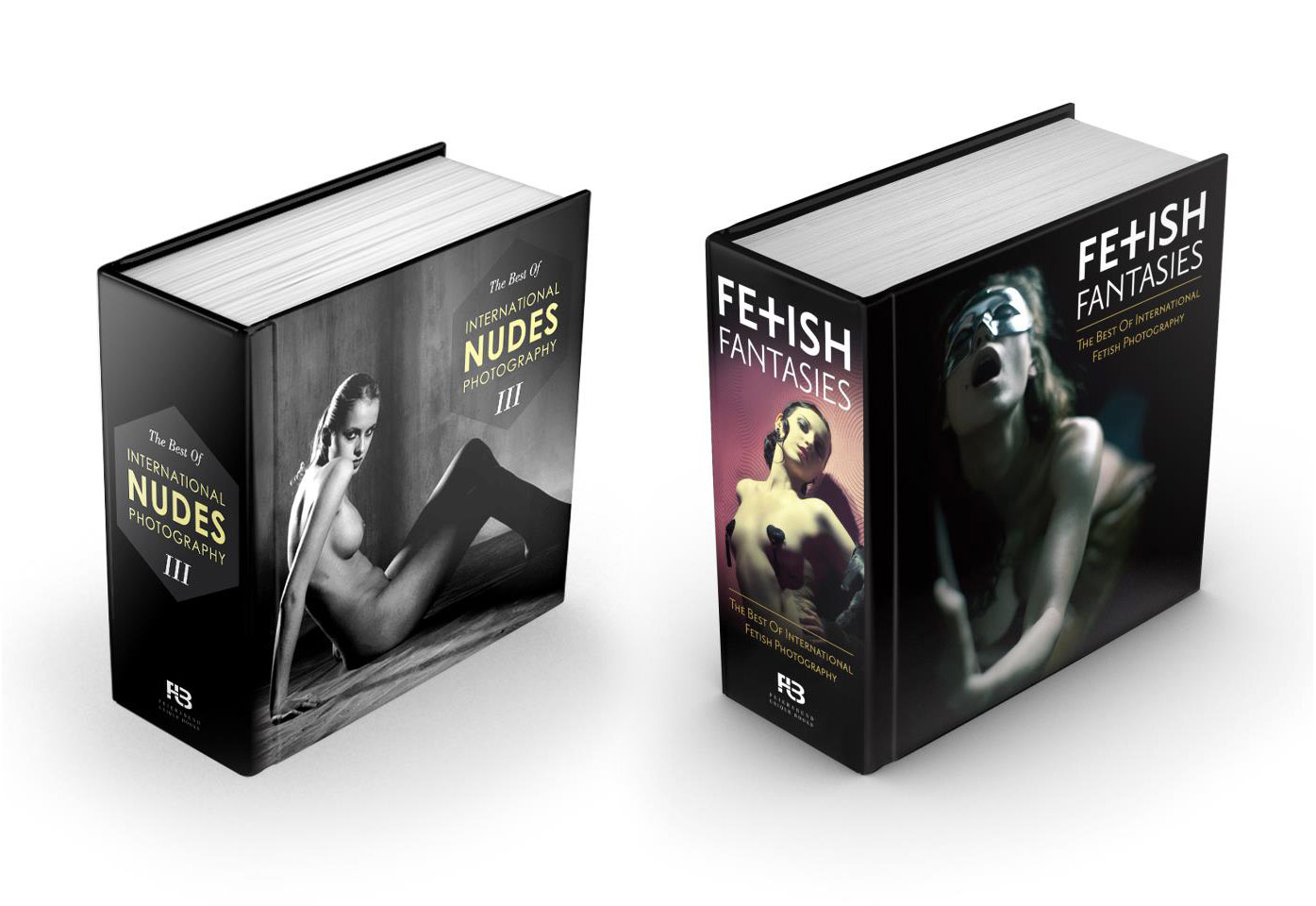 Nudes 3 & Fetish Fantasies books