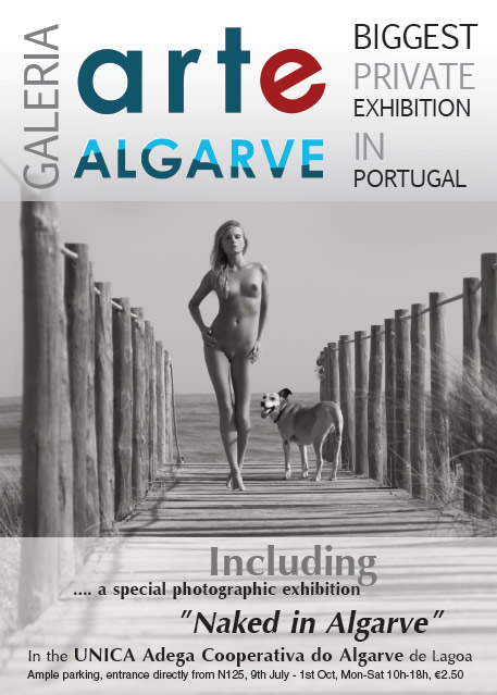 Arte Algarve - Naked in Algarve. Photo by Miloš Burkhardt