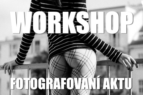 Workshop fotografování aktu Praha
